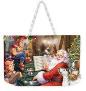 Christmas Carols Weekender Tote Bag by MGL Meiklejohn Graphics Licensing