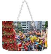Christmas Celebration Weekender Tote Bag
