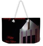 Christmas Church Weekender Tote Bag