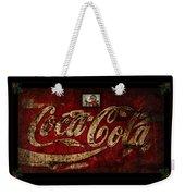 Christmas Coca Cola 1881 Santa Weekender Tote Bag
