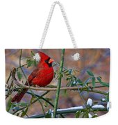 Christmas Color Weekender Tote Bag