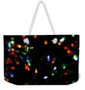 Christmas Colors Weekender Tote Bag