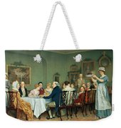 Christmas Comes But Once A Year Weekender Tote Bag