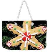 Christmas Cookie Weekender Tote Bag