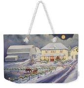 Christmas Corral Weekender Tote Bag