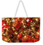 Christmas Dazzle Weekender Tote Bag