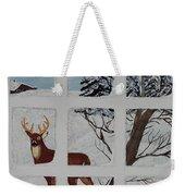 Christmas Deer  Weekender Tote Bag