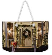 Christmas Door 1 Weekender Tote Bag