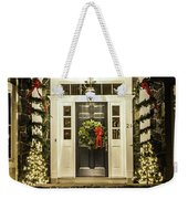 Christmas Door 2 Weekender Tote Bag