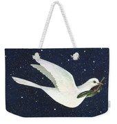 Christmas Dove Weekender Tote Bag