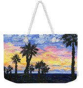 Christmas Eve In Redondo Beach Weekender Tote Bag