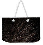 cHRISTMAS eVE sNOW Weekender Tote Bag