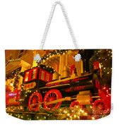 Christmas Express Weekender Tote Bag