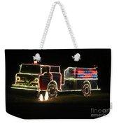 Christmas Fire Truck 2 Weekender Tote Bag