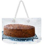 Christmas Fruit Cake Weekender Tote Bag