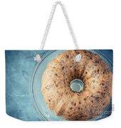 Christmas Fruitcake Weekender Tote Bag