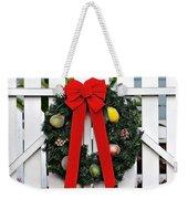 Christmas Garland Weekender Tote Bag