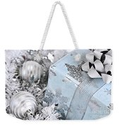 Christmas Gift Box And Decorations Weekender Tote Bag