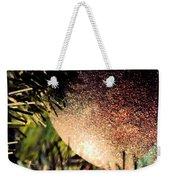Christmas Glitter Weekender Tote Bag