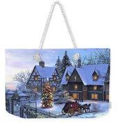 Christmas Homecoming Weekender Tote Bag