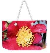 Christmas In A Flower Weekender Tote Bag