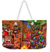 Christmas In Hdr Weekender Tote Bag