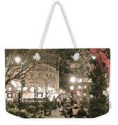 Christmas In Manhattan Weekender Tote Bag