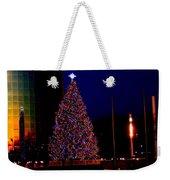 Christmas In New York Weekender Tote Bag
