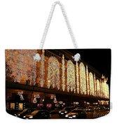 Christmas In Paris - Gallery Lights Weekender Tote Bag