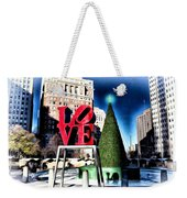 Christmas In Philadelphia Weekender Tote Bag