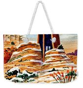 Christmas In Sedona Weekender Tote Bag