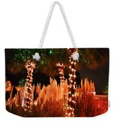 Christmas In The Sand Weekender Tote Bag