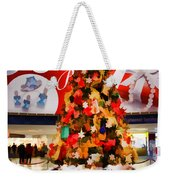 Christmas In The Train Station Weekender Tote Bag