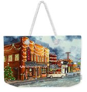 Christmas In Villa Rica 1950's Weekender Tote Bag