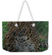 Christmas Leopard II Weekender Tote Bag