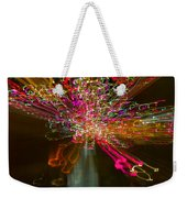 Exploding   Lights  Weekender Tote Bag