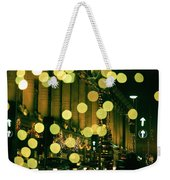 Christmas Lights In Oxford Streeet Weekender Tote Bag