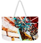 Christmas Lights In Window Weekender Tote Bag