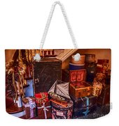 Christmas Luggage Color Weekender Tote Bag
