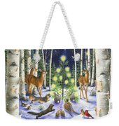 Christmas Magic Weekender Tote Bag by Lynn Bywaters