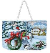 Christmas Mail Weekender Tote Bag