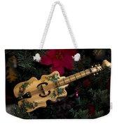Christmas Music Weekender Tote Bag