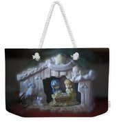 Christmas Nativity Scene Weekender Tote Bag