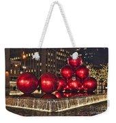 Christmas On 5th Avenue Manhattan 1 Weekender Tote Bag