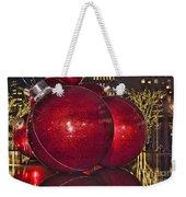 Christmas On 5th Avenue Manhattan 4 Weekender Tote Bag