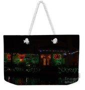 Christmas On East Lake 3 Weekender Tote Bag
