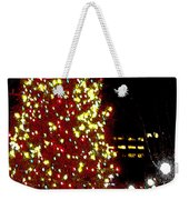 Christmas On Public Square Three Weekender Tote Bag