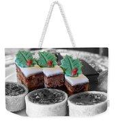 Christmas Pastries Weekender Tote Bag