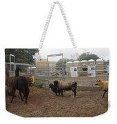 Christmas Petting Farm Weekender Tote Bag