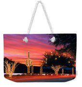Christmas, Phoenix, Arizona, Usa Weekender Tote Bag